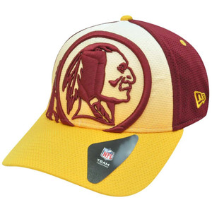 NFL New Era 39Thirty 3930 Gradation Washington Redskins Flex Fit S/M Hat Cap