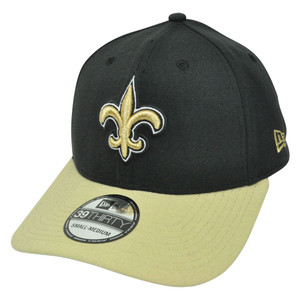 NFL New Era 39Thirty New Orleans Saints TD Classic Stretch Flex Fit S/M Hat Cap