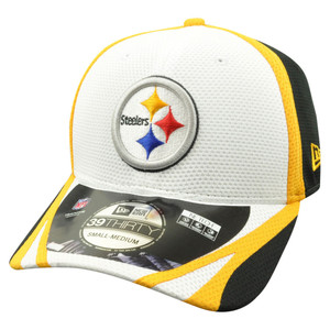 NFL New Era 39Thirty Pittsburgh Steelers 2014 Official Training Flex Fit M/L