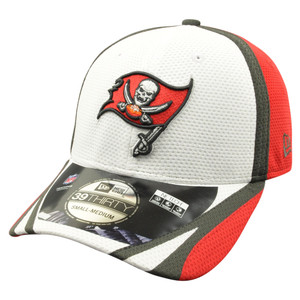 NFL New Era 39Thirty Tampa Bay Buccaneers 2014 Official Training Flex Fit S/M