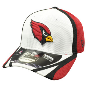 NFL New Era 39Thirty 3930 Arizona Cardinals 2014 Official Training Flex Fit M/L