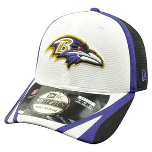NFL New Era 39Thirty Baltimore Ravens 2014 Official Field Training Flex Fit S/M
