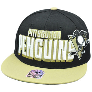 47 Forty Seven Brand Snap Back Slamma Jamma Hat Cap NHL LNH Pittsburgh Penguins
