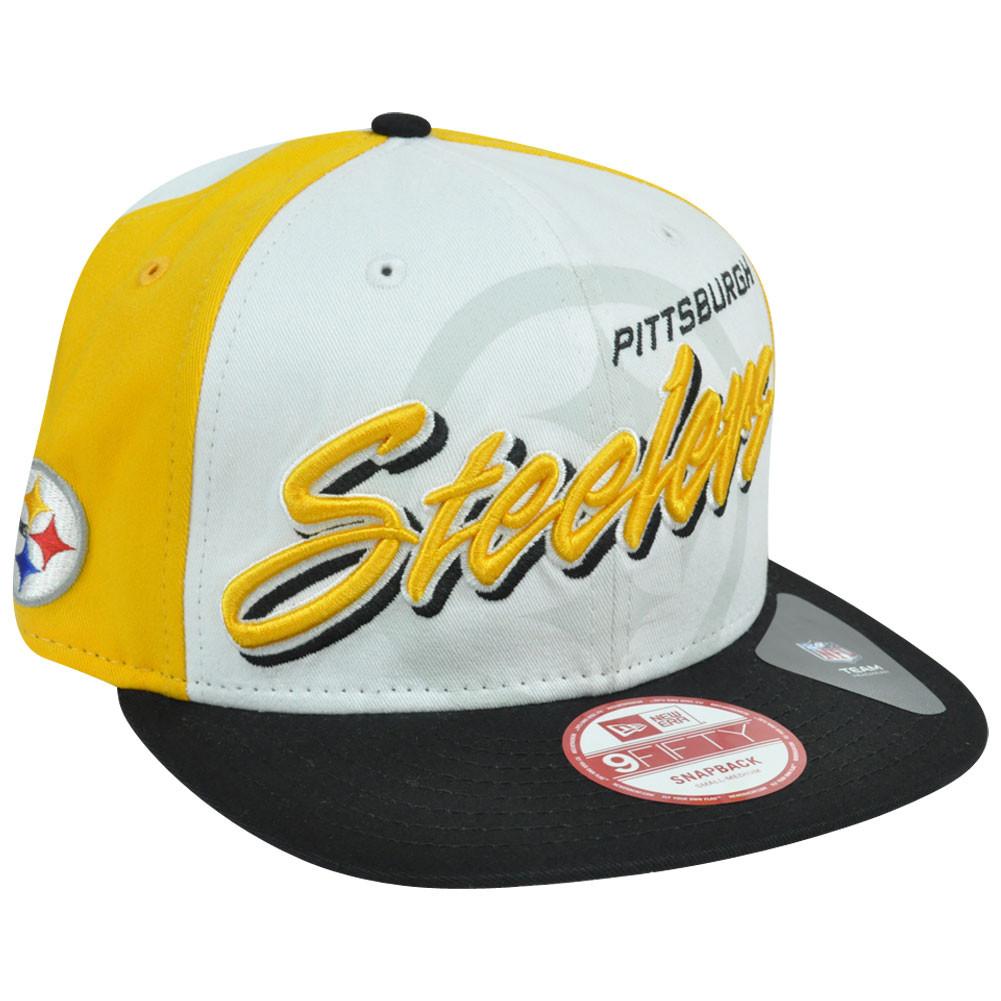 21674fdcc New Era 9Fifty 950 NFL Pittsburgh Steelers Gamer Two Tone Snapback ...