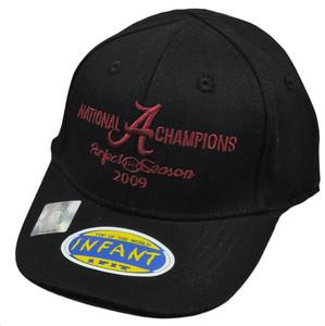 NCAA Top of World 2009 Champs Alabama Crimson Tide Hat Cap Flex Fit Infant Child