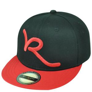 dc09043fdad Jay Z Rocawear R Script Core Brand Youth Flat Bill Snapback Hat Cap Black  Red