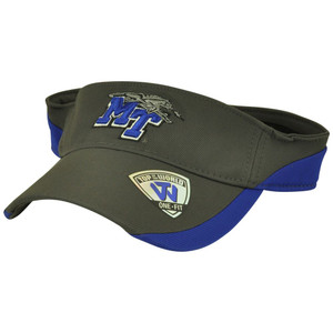 NCAA Middle Tennessee Blue Raiders Top of the World Stretch Flex Fit Visor Hat