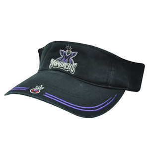 WNBA VISOR HAT CAP SACRAMENTO MONARCHS BLACK COTTON NEW
