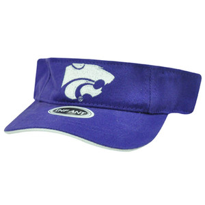 NCAA INFANT VISOR HAT CAP KANSAS STATE WILDCATS PURPLE