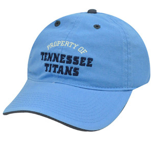 NFL TENNESSEE TITANS BLUE REEBOK SLOUCH CAP HAT ADJ NEW
