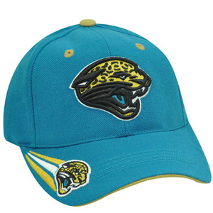 NFL JACKSONVILLE JAGUARS TEAL ACRYLIC WOOL HAT CAP OSFA
