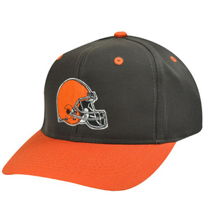 NFL CLEVELAND BROWNS OLD SCHOOL SNAP BACK HAT CAP NEW