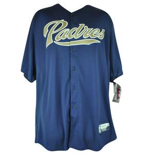 MLB Majestic San Diego Padres Cool Base Batting Practice Mens Baseball Jersey