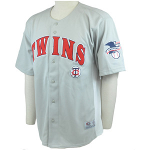 MLB Minnesota Twins Licensed American Baseball Pinstripes Jersey True Fan