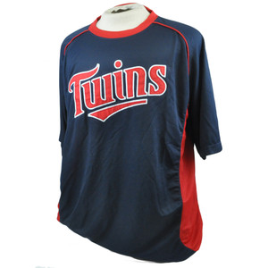 MLB Minnesota Twins Licensed Stitches Baseball Lightweight Jersey