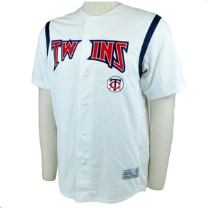 MLB Minnesota Twins Baseball Team Jersey Shirt True Fan Star Licensed