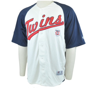 MLB Minnesota Twins Licensed Baseball Jersey Shirt True Fan All Star
