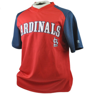 MLB True Fan St Louis Cardinals Lightweight License Authentic Jersey