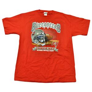 NFL Football Locker Room Licensed Tampa Bay Buccaneers Shirt Adult Tshirt Tee