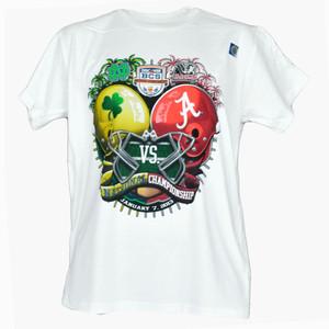 NCAA Discover BCS 2013 Notre Dame vs Alabama Crimson Tide Championship T Shirt
