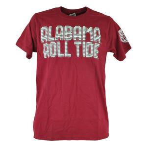 NCAA Alabama Crimson Roll Tide Scoreboard 2013 BCS Champions Tshirt Tee