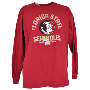 NCAA Florida State Seminoles FSU Long Sleeve Burgundy Orange Bowl Shirt