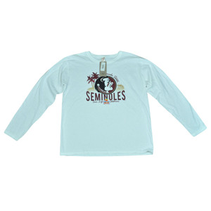 NCAA Florida State FSU Seminoles Orange Bowl Ladies Long Sleeve Tee OB3017