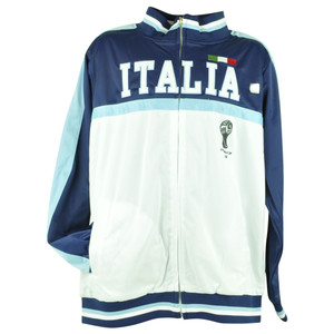 FIFA World Cup 2014 Italia Italy Track Jacket Zip Up Sweater Soccer Futbol