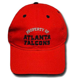 NFL ATLANTA FALCONS RED NEW REEBOK SLOUCH CAP HAT ADJ