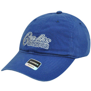 NFL Indianapolis Colts Football Garment Wash Relaxed Fit Womens Ladies Hat Cap