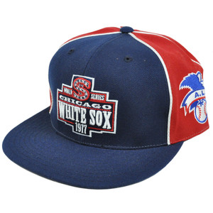 MLB 1917 World Series Chicago White Sox Cooperstown Show Stopper Fitted Hat Cap