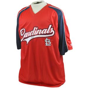 MLB St Louis Cardinals True Fan Licensed Authentic Lightweight Jersey XLarge XL