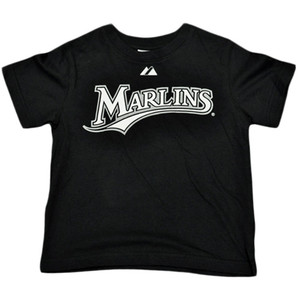 MLB Florida Miami Marlin Hanley Ramirez 2 Tshirt Infant Babies Boy Tee Black
