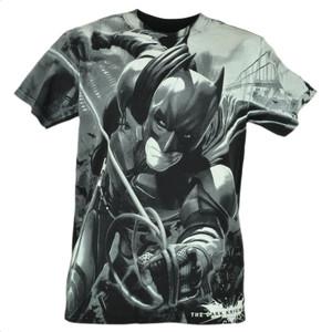 Batman Dark Knight Movie DC Comics Book Cartoon Small Tshirt Shirt Tee Black