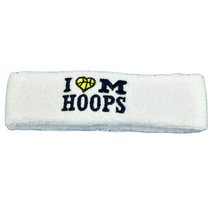 NCAA I Heart Love Michigan Top of the World Wolverines Head Band Sweat Band