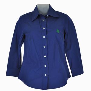 NCAA Notre Dame Fighting Irish Colony Sportswear Women Ladies XSmall Dress Shirt