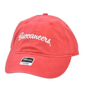 NFL Tampa Bay Buccaneers Ladies Women Garment Red Reebok Rhinestones Gem Hat Cap
