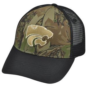 NCAA Kansas State Wildcats Freshman Trucker Camouflage Mesh Snapback Hat Cap