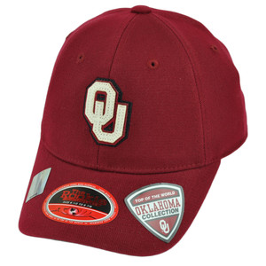 NCAA Top of the World Oklahoma Sooners Youth Flex Fit Hat Cap  6 1/2 to 6 7/8