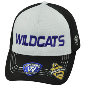 NCAA Kansas State Wildcats 2013 Buffalo Wild Wings Bowl Velcro Two Tone Hat Cap