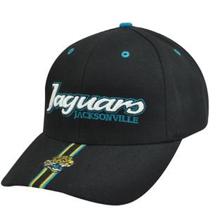 NFL JACKSONVILLE JAGUARS BLACK COTTON HAT CAP VELCRO