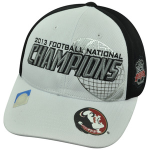 NCAA Florida State Seminoles 2013 BCS National Football Champions Velcro Hat Cap