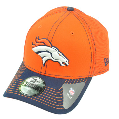 ... cheap nfl new era 39thirty 3930 denver broncos 2 tone neo orange l xl  flex fit de0cf82f084