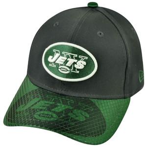 NFL New Era 3930 New York Jets Flex Fit Small Medium Multicross Max Hat Cap