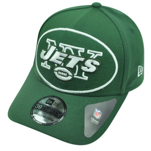 NFL New Era 3930 39Thirty New York Jets Flex Fit Medium Large Magnifier Hat Cap