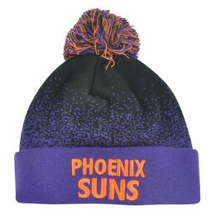 NBA Mitchell Ness Title Knit KM12 Cuffed Pom Pom Beanie Phoenix Suns HWC Skully