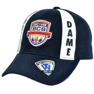 NCAA Notre Dame Fighting Irish 2013 BCS National Championship Game Flex Fit Hat