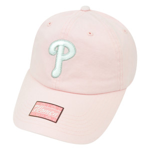 MLB Fan Favorite Philadelphia Phillies Shiver Pink Garment Wash Buckle Hat Cap