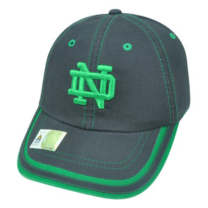 NCAA Notre Dame Fighting Irish Combi Garment Wash Strapback Buckle Navy Hat Cap