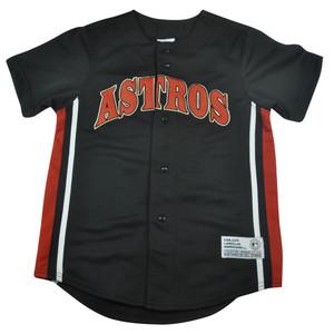 MLB True Fan Houston Astros Youth Lance Berkman 17 Baseball Jersey Medium 8-10